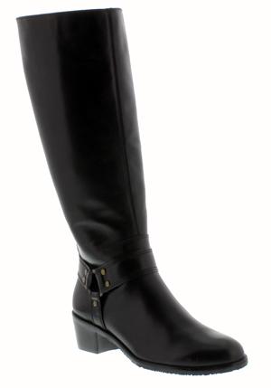 "6e6bb586f6e36 Rose Petals Lia Extra Wide Calf Boot (Black) | David Tate Women's Ava Super  Wide Calfâ""¢ Boot (Black)"